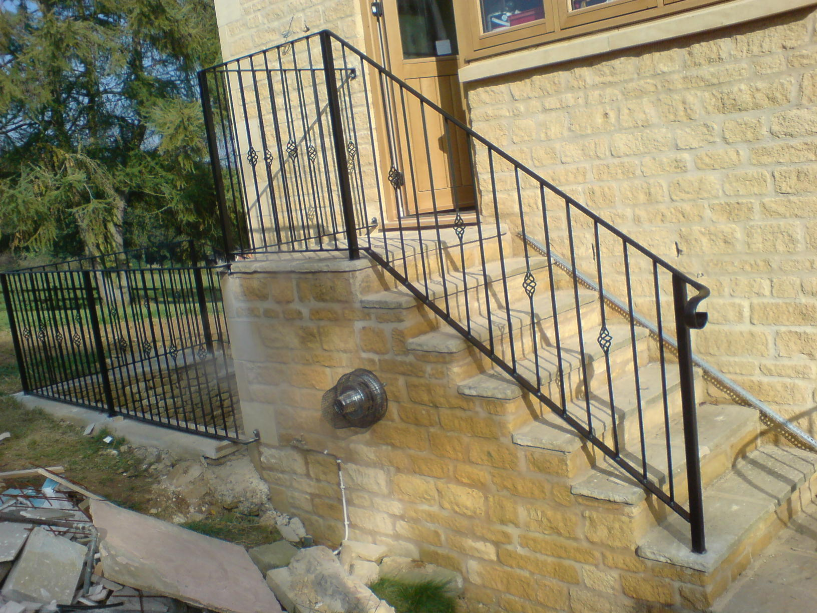Balustrading Wrought Ironwork Fire Escapes