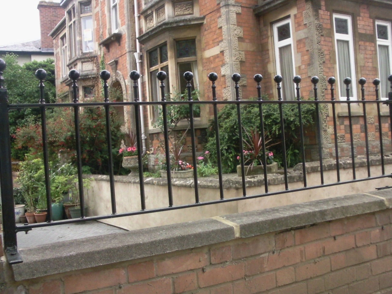 Iron Ironwork Wrought Railings Electric Gates
